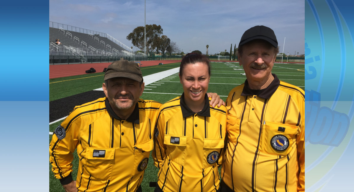 A few of our volunteering officials!  Thank you!